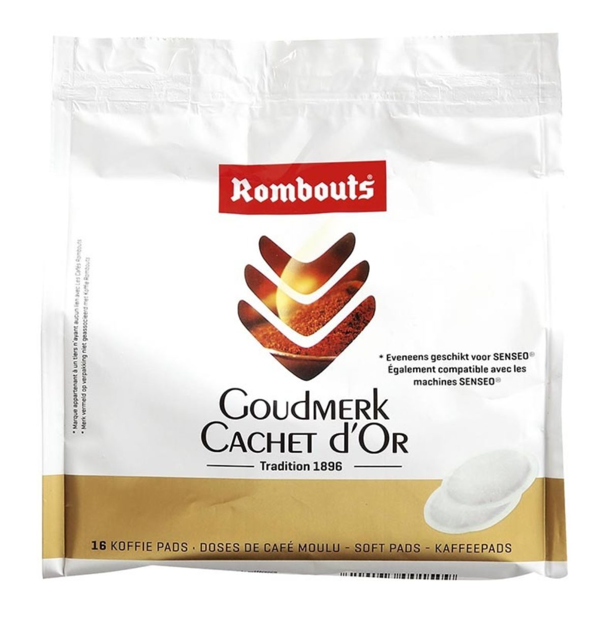 Rombouts 16pad cachet d or
