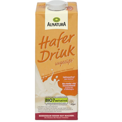 Alnatura drink avoine sans sucre