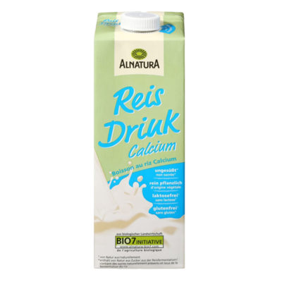 Alnatura drink riz calcium copy